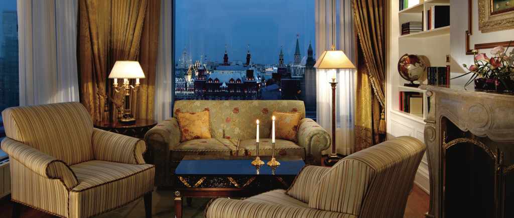 Ritz-Carlton Москва. Номер.