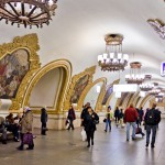 <b>Самые красивые станции метро Москвы</b>