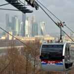 <b>Канатная дорога на Воробьёвы горы в Москве: Расписание и цены.</b>